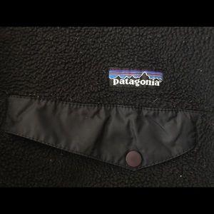 Patagonia Jackets & Coats - Patagonia solid, black, fleece